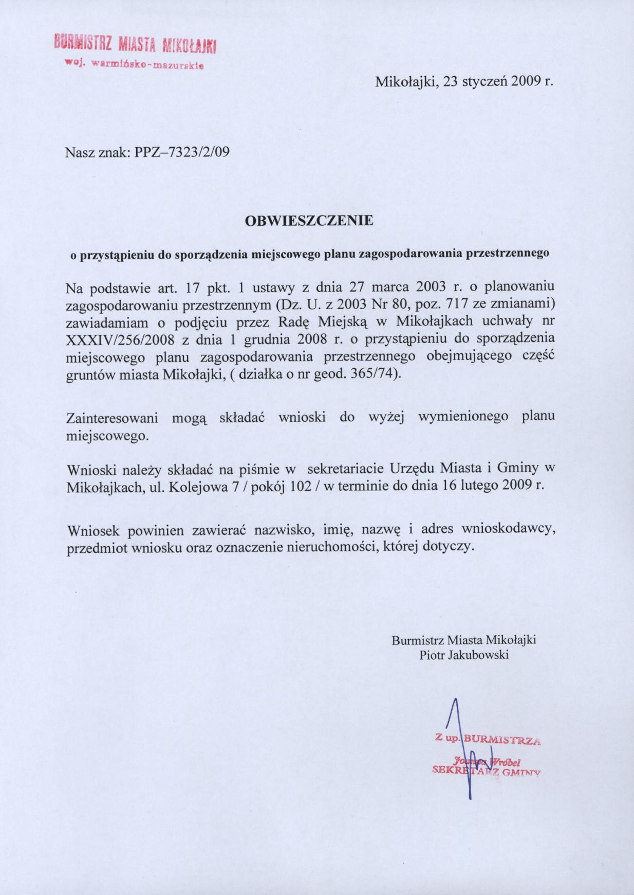 Biuletyn Informacji Publicznej Gminy Mikołajki